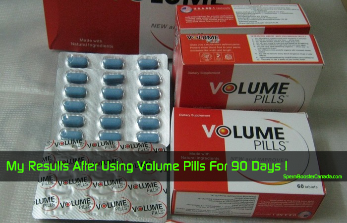 my results after using Volume Pills for 90 days